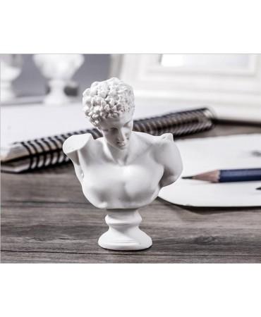 Conjunto de 10 bustos en miniatura Figuras decorativas