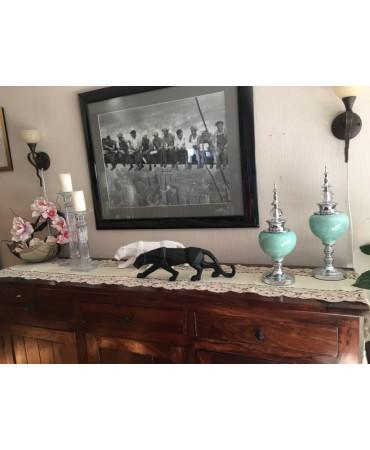 Pumas geométricos Bjarus y Ferko Figuras decorativas