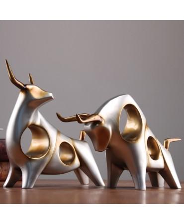 Tarsoin, el buey apesadumbrado Figuras decorativas