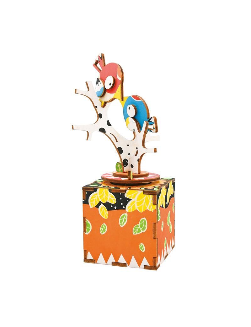 Cajapuzzle musical El árbol y los pajaritos Musicales