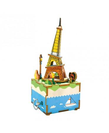 Cajapuzzle musical Eiffel es nuestra Musicales