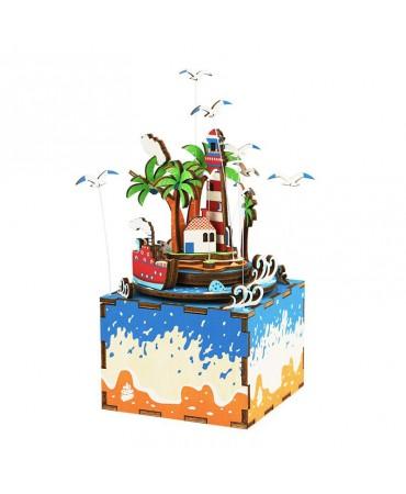 Cajapuzzle musical Año sabático en la isla Musicales