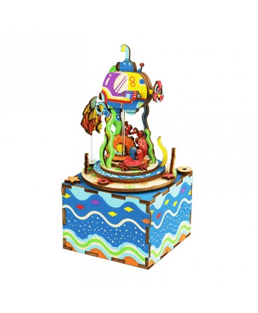 Cajapuzzle musical Bajo el mar Musicales