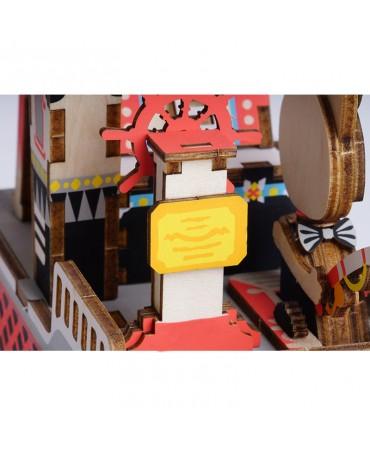 Cajapuzzle musical Pombi el aventurero Musicales