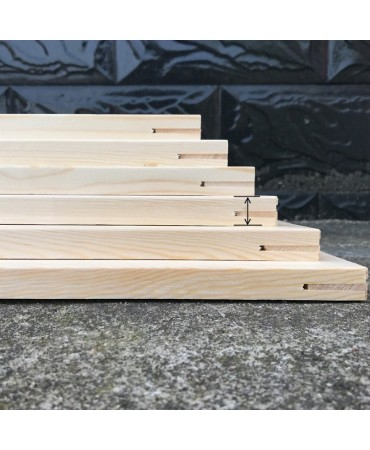 Bastidor de madera para nuestras pinturas Pintura por números
