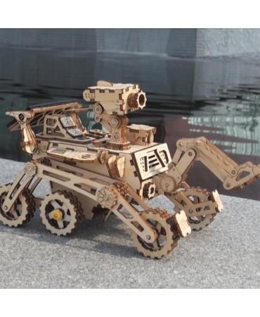 Explorador Espacial: Curiosity Rover Con energía solar