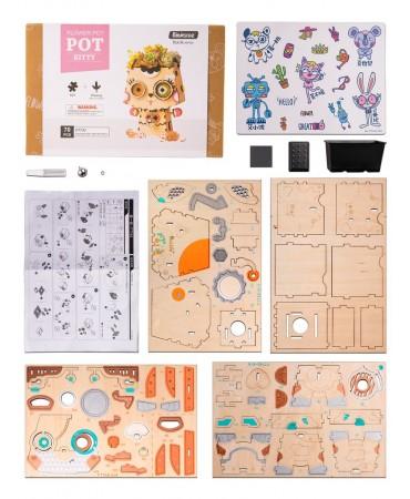 Macetapuzzle: Mitsu Como macetas