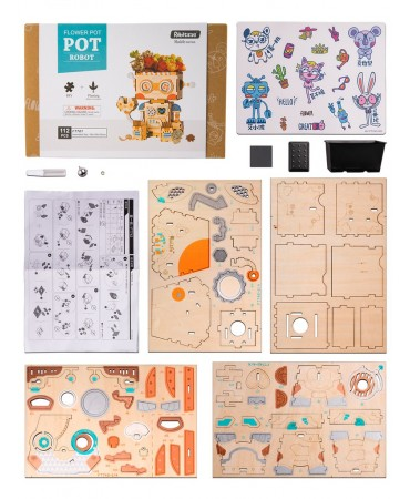 Macetapuzzle: Toyoshi Como macetas