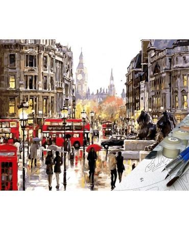 Un día lluvioso en Londres Ciudades
