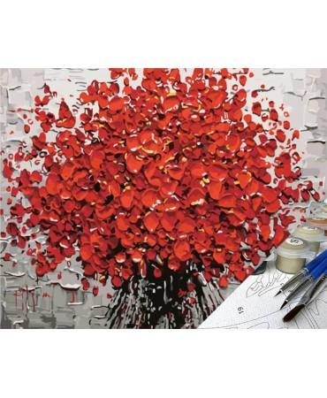 Pétalos de fuego Flores y naturaleza