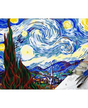 Noche estrellada de Vincent Van Gogh De artistas célebres