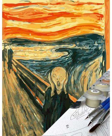 El Grito de Edvard Munch Pintura por números