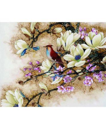 El ave que espera Flores y naturaleza
