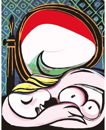 Le miroir de Pablo Picasso De artistas célebres