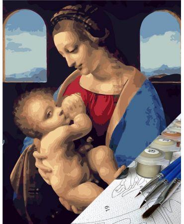 Madonna Litta de Leonardo da Vinci De artistas célebres