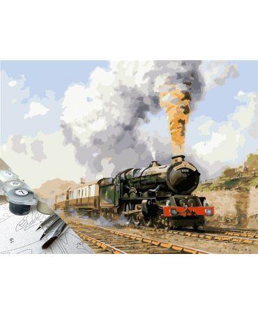 Locomotora Drocleitrain Pintura por números