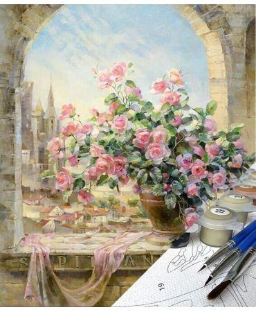 Rosa en Roma Flores y naturaleza