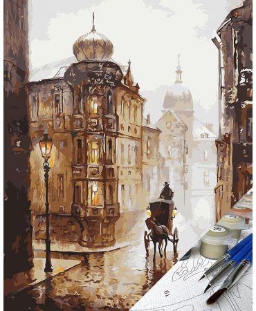 Carro y lluvia Ciudades