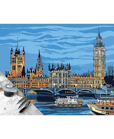 Río Thames y el Big Ben Ciudades