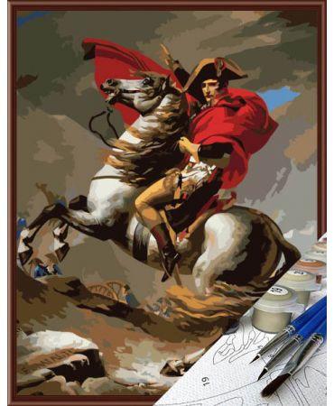 Napoleón en el paso de San Bernardo de Jacques-Louis David De artistas célebres