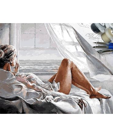Mujer y descanso Retratos y situaciones