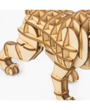 Tigre Dientes de Sable 3D Objetos y animales