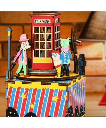 Cajapuzzle musical La Cabina Musicales