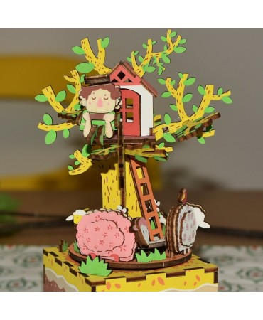 Cajapuzzle musical La casa del árbol Musicales