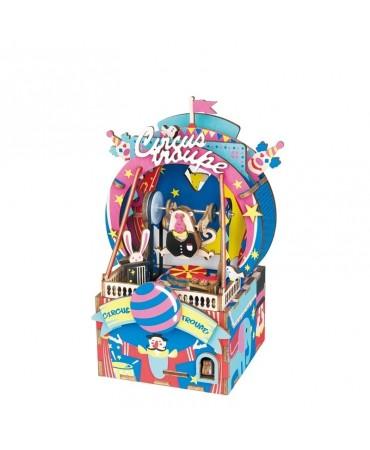 Cajapuzzle musical La tropa del circo Musicales