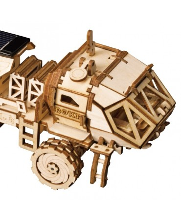 Explorador Espacial: Hermes Rover Con energía solar