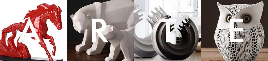 Zona exclusiva de esculturas y figuras decorativas para el hogar