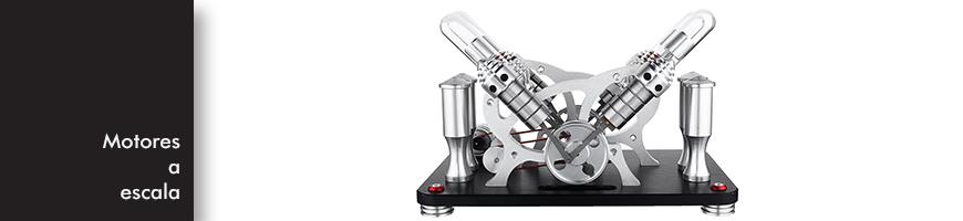 Motores Stirling - Propulsado por diferencias de temperatura