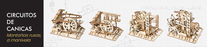 Circuitos de canicas en Puzzles 3D