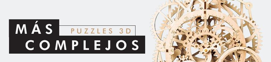 Puzzles 3D complejos para adolescentes y mayores
