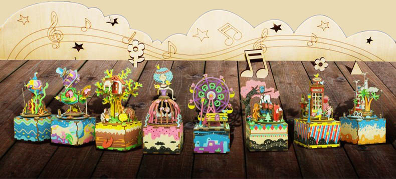 Catálogo de cajapuzzles musicales