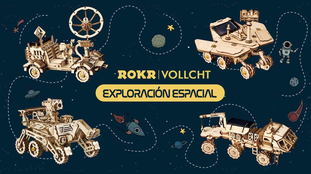 Los cuatro modelos de Exploradores Espaciales de VOLLCHT